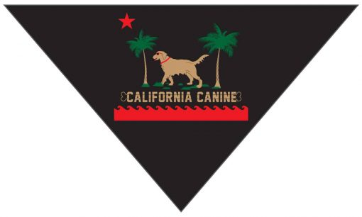 Surf Dog Bandana Black