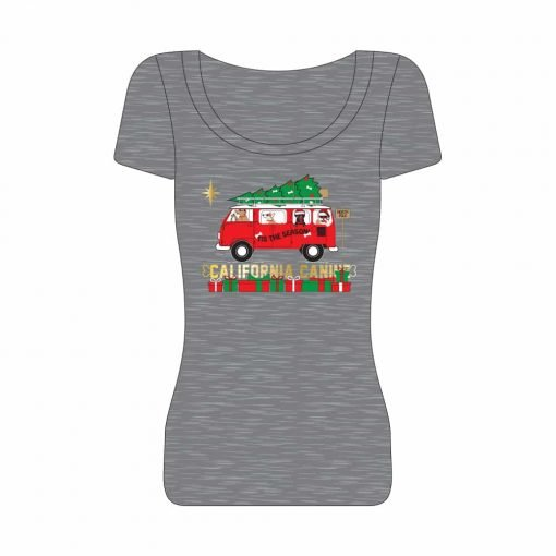 Christmas-Road-Trip_Womens-T-Shirt-Heather-Grey